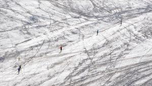 Långdistanslopp i de schweiziska Alperna den 5 augusti 2017.
