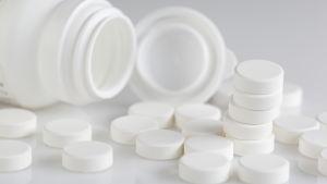 Läkemedel och läkemedelsburk