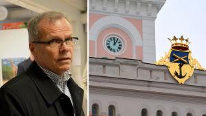 Olavi Kaleva och rådhuset i Lovisa