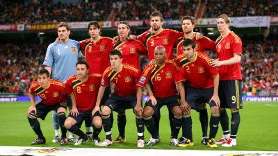 Spanien mot dc kvarten