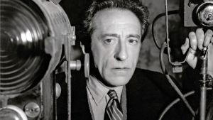 Jean Cocteau. Kuva dokumenttielokuvasta Cocteaun testamentti (Jean Cocteau: je reste avec nous).