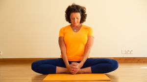 Tove Palmgren är yogalärare