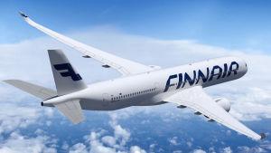 Finnairplan av typ Airbus A350