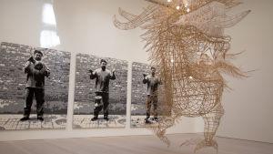Ai Weiwein näyttely Exaggeration Galerie Forsblomissa 12.5.2016.