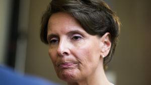 Trafik- och kommunikationsminister Anne Berner