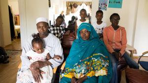 Perhe saapui sudanista suomeen 13 vuotta sitten.