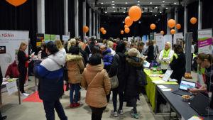 Rekryteringsmässan DonFabriken i Konstfabriken i Borgå