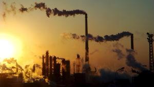 En kemikaliefabrik i Kina
