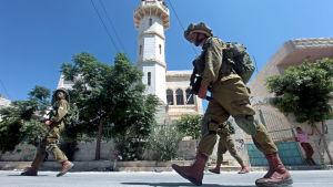 israelisk soldat