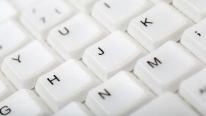Några tangenter i ett tangentbord