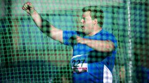 Daniel Ståhl får finna sig att vara huvudfavorit i diskustävlingen i VM nästa månad.