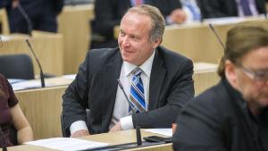 Teuvo Hakkarainen, riksdagsledamot för Sannfinländarna.