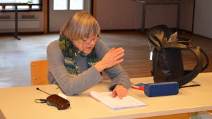 Elisabeth Öhman regisserar