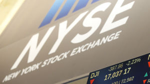 New York-börsen den 4 januari 2016.
