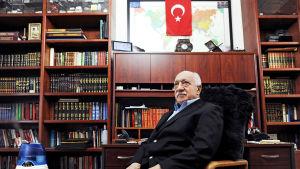 Fethullah Gülen i sitt hem i Pennsylvania, USA 15.3.2014