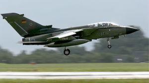 Tyskt Tornadoplan på väg på spaningsflygning