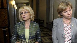 Päivi Räsänen och Anna-Maja Henriksson.