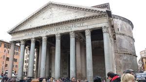 Pantheon-temppeli Roomassa