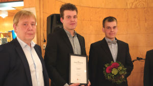 Erkki Mikola, Samuli Suominen och Olli Suominen
