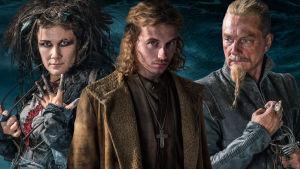 Minttu Mustakallio, Christian Arnold ja Ville Virtanen sarjassa Heroes of the Baltic Sea.