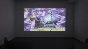 En Plein Air: Music of Objective Romance, videoinstallation av Jacolby Satterwhite
