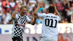 Mika Häkkinen och Miroslav Klose.