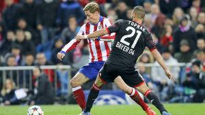 Fernando Torres och Ömer Toprak möts igen. Bilden från 2015.