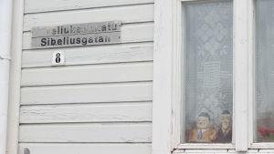 Sibeliusgatan i Lovisa