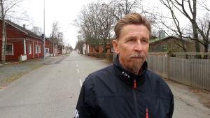 Stadsstyrelsens ordförande i Kaskö Carl-Gustav Mangs.