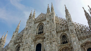 Katedralen i Milano.