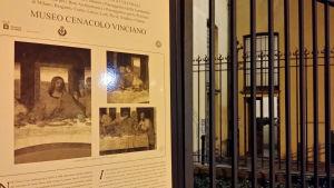 Hit vallfärdar man för att se Leonardos verk från 1400-talet.