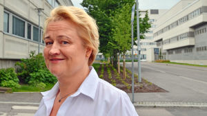 Ulla Kaukola (SDP) är medlem av fullmäktige i Vanda.