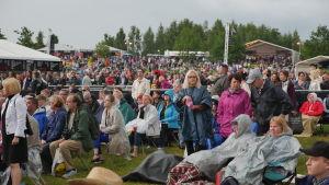 Publik vid Pori Jazz 2015