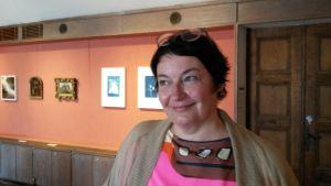 Heli Rekula, konstnär och lektor i fotografi vid Aalto Universitetet