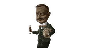 Illustration av Jean Sibelius