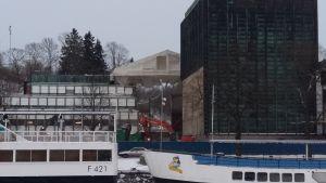 Åbo stadsteater renoveras.