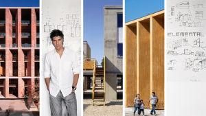 Pritzker -palkittu Alejandro Aravena ja hänen arkkitehtitoimistonsa Elementalin töitä