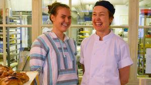 anna Sörensson är ägare och kock i Mat på Stora Robetsgatan