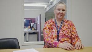 Tiina Hellgren, vd för  Finska ömsesidiga läkemedelsskadeförsäkringsbolaget