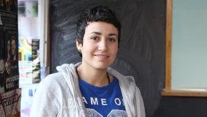 Yasmin  Abud, syrisk asylsökande