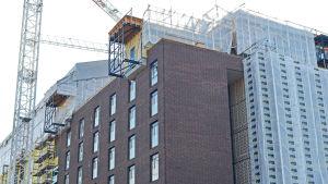 I det här hörnet byggs nya studentbostäder