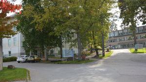 Raseborgs sjukhus i Ekenäs.