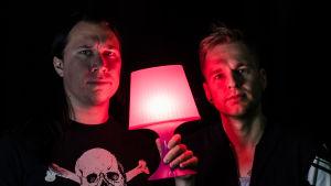Tommy och Kjell gör podcast om musik och annat livsviktigt.