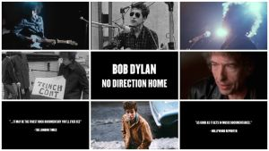 Kooste kuvista Martin Scorsesen dokumenttielokuvasta (trailerista) No Direction Home: Bob Dylan.