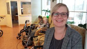 Gisela Sjöholm är föreståndare för Tunahemmet i Snappertuna
