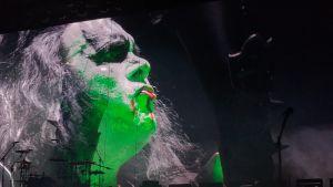 Gene Simmons / Kiss i Helsingforsarenan 4.5.2017