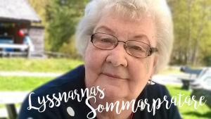 Siv Fagerlund är Lyssnarnas sommarpratare 2017