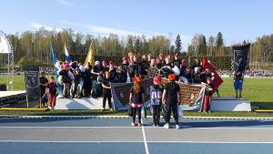 Vikingarna (svenska skolan i Lahtis) på prispallen