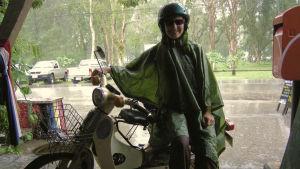 Tuulikki Viitaniemi lomailee usein Thaimaassa