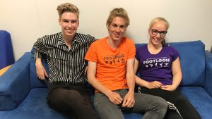 Tre skådespelare från Raseborgs sommarteater